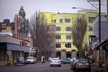 Changing attitudes by developers and lenders drive no-parking apartment surge in Portland