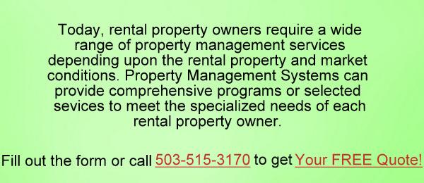 Portland Property Management Services