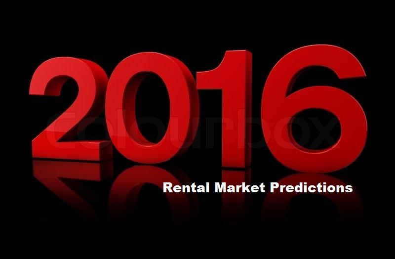 Portland Rental Predictions for 2016