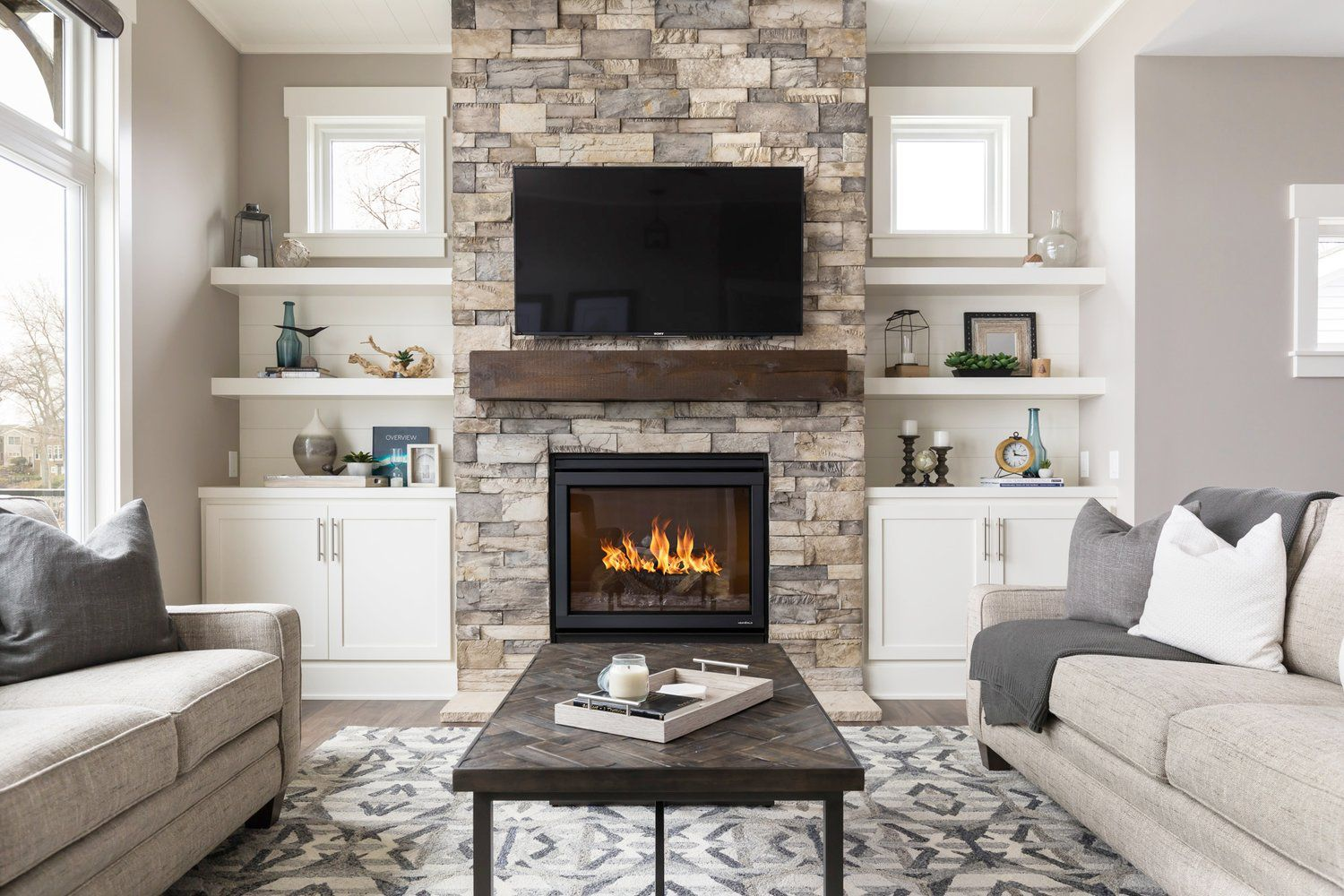 incredible living room designs fireplaces | Tualatin Property Management