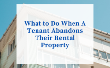 abandoned rental property